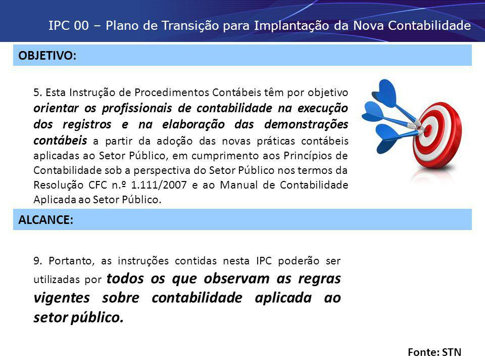 IPC 00 – Plano de Transição para Implantação da Nova Contabilidade