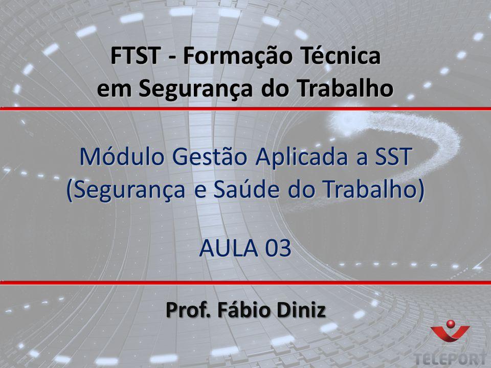Módulo Gestão Aplicada a SST (Segurança e Saúde do Trabalho) AULA 03