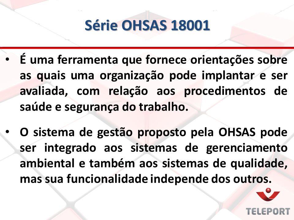 Série OHSAS 18001