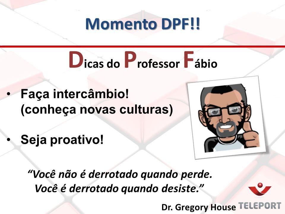 Dicas do Professor Fábio