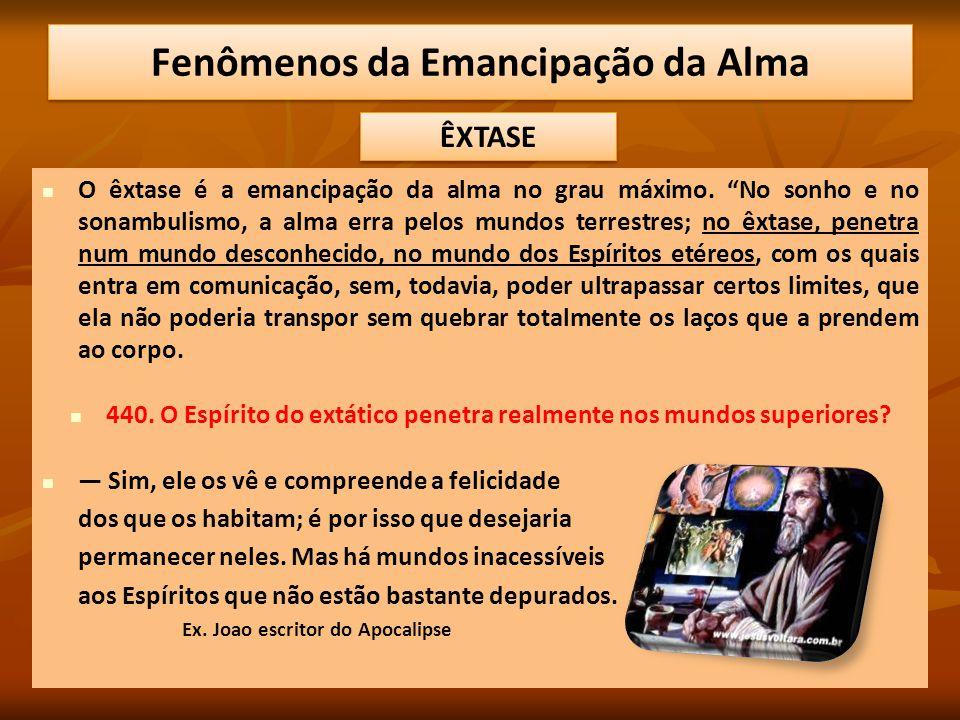 Fenômenos da Emancipação da Alma