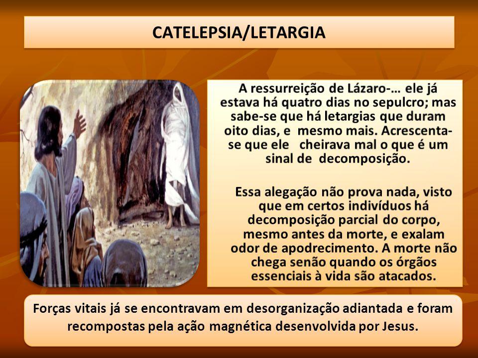 CATELEPSIA/LETARGIA