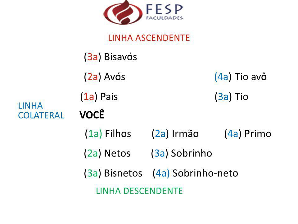 (3a) Bisnetos (4a) Sobrinho-neto