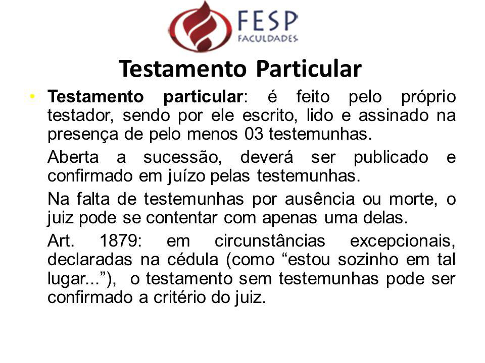 Testamento Particular