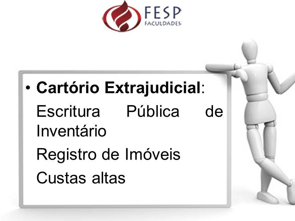 Cartório Extrajudicial: