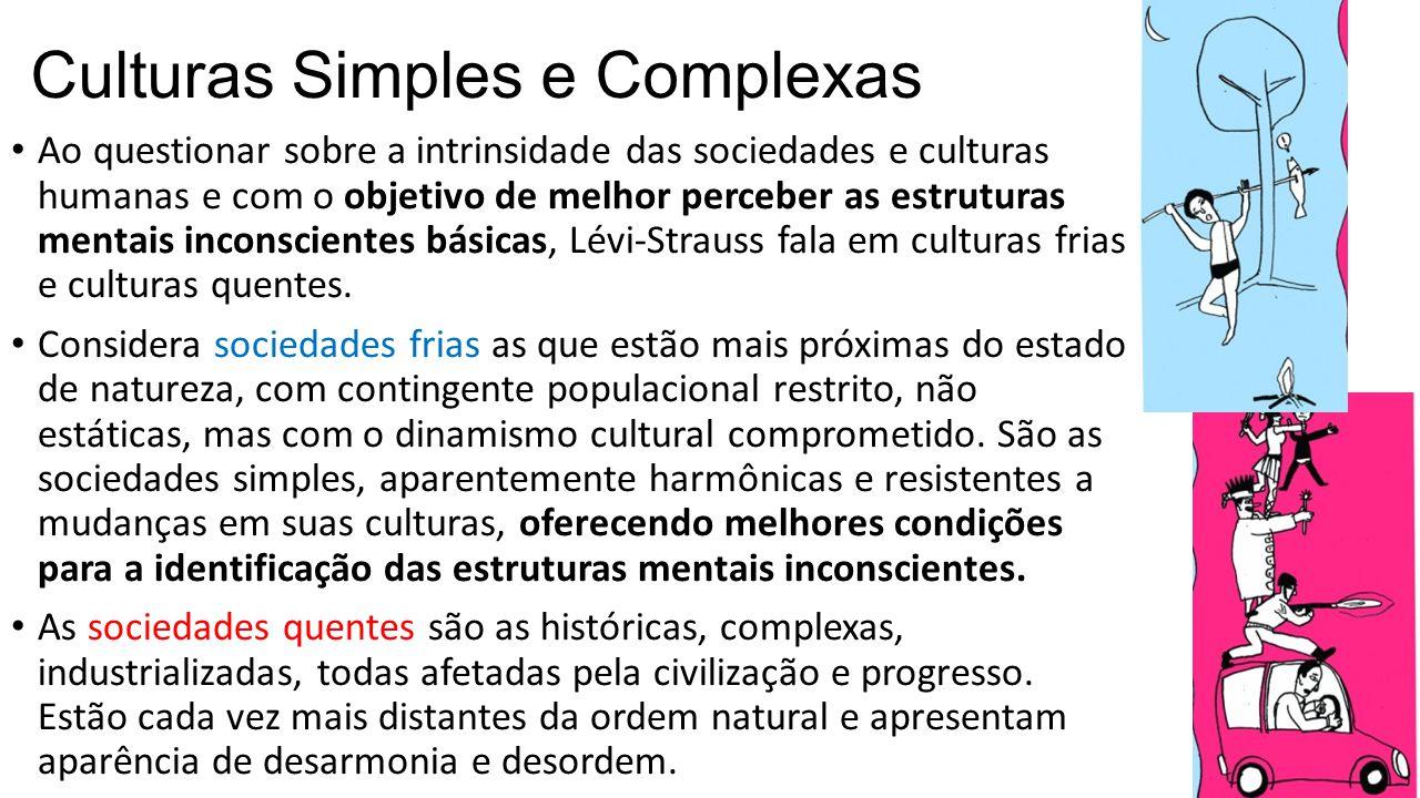 Culturas Simples e Complexas