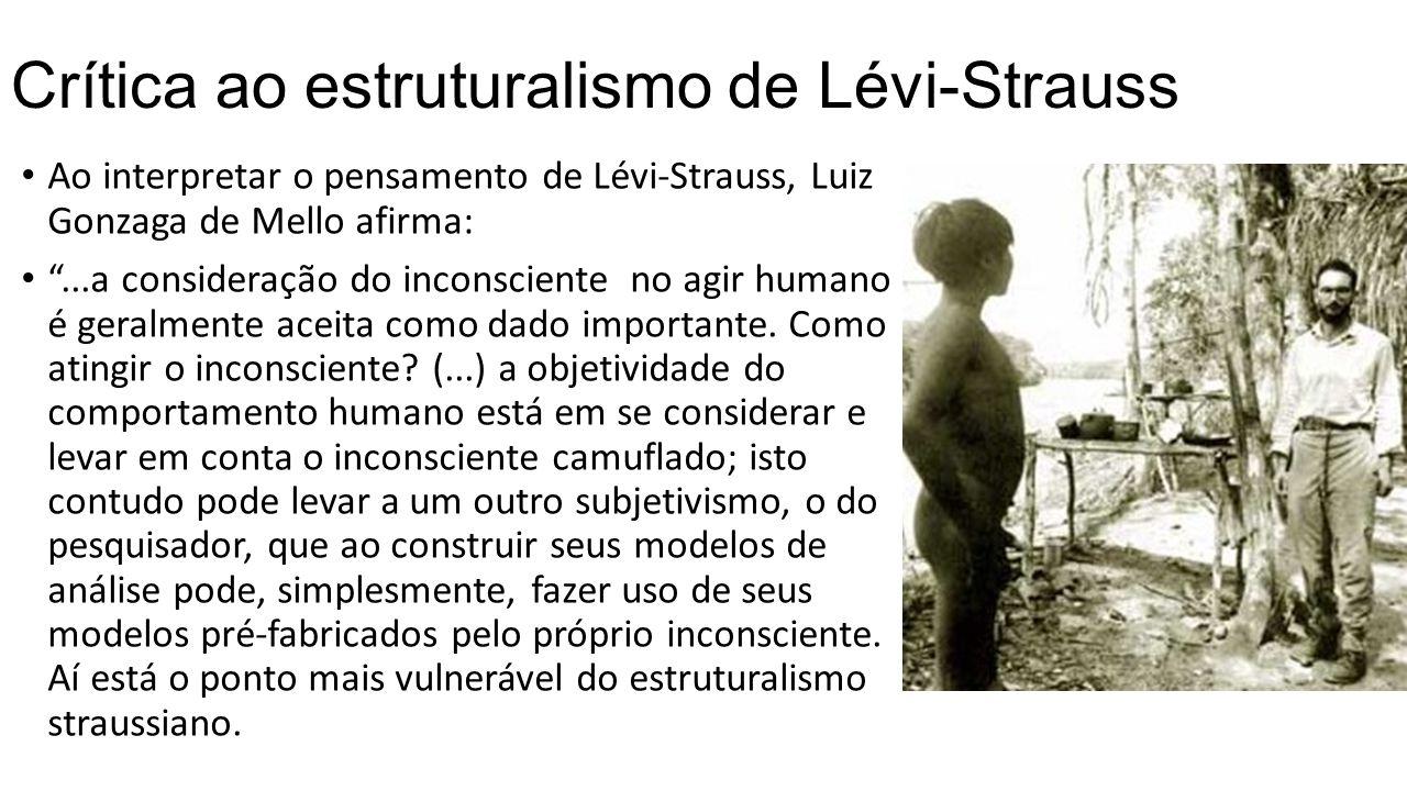 Crítica ao estruturalismo de Lévi-Strauss