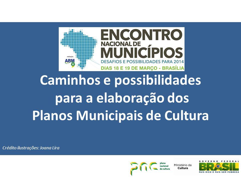 Caminhos e possibilidades Planos Municipais de Cultura
