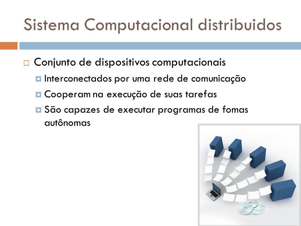 Sistema Computacional distribuidos