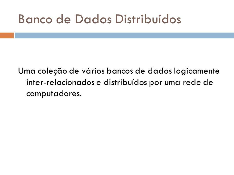 Banco de Dados Distribuidos