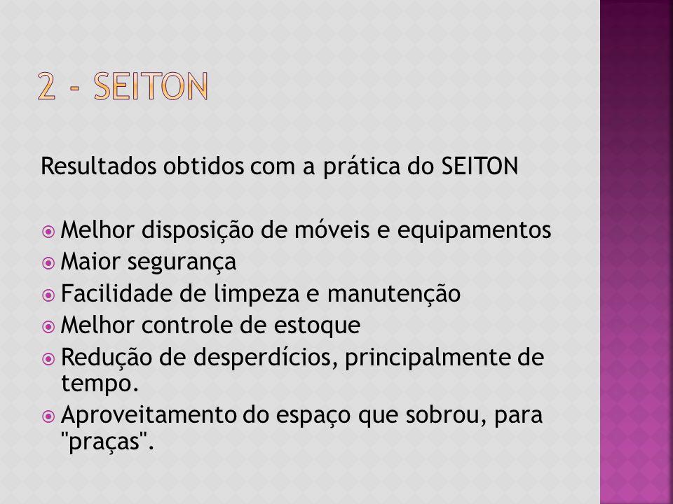 2 - SEiton Resultados obtidos com a prática do SEITON