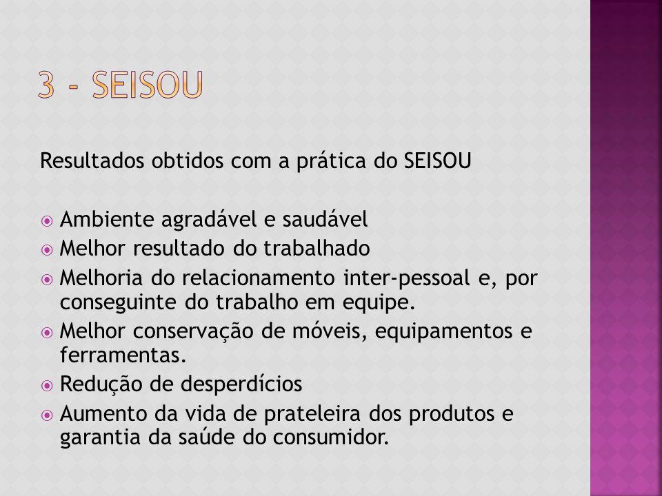 3 - SEiSOU Resultados obtidos com a prática do SEISOU