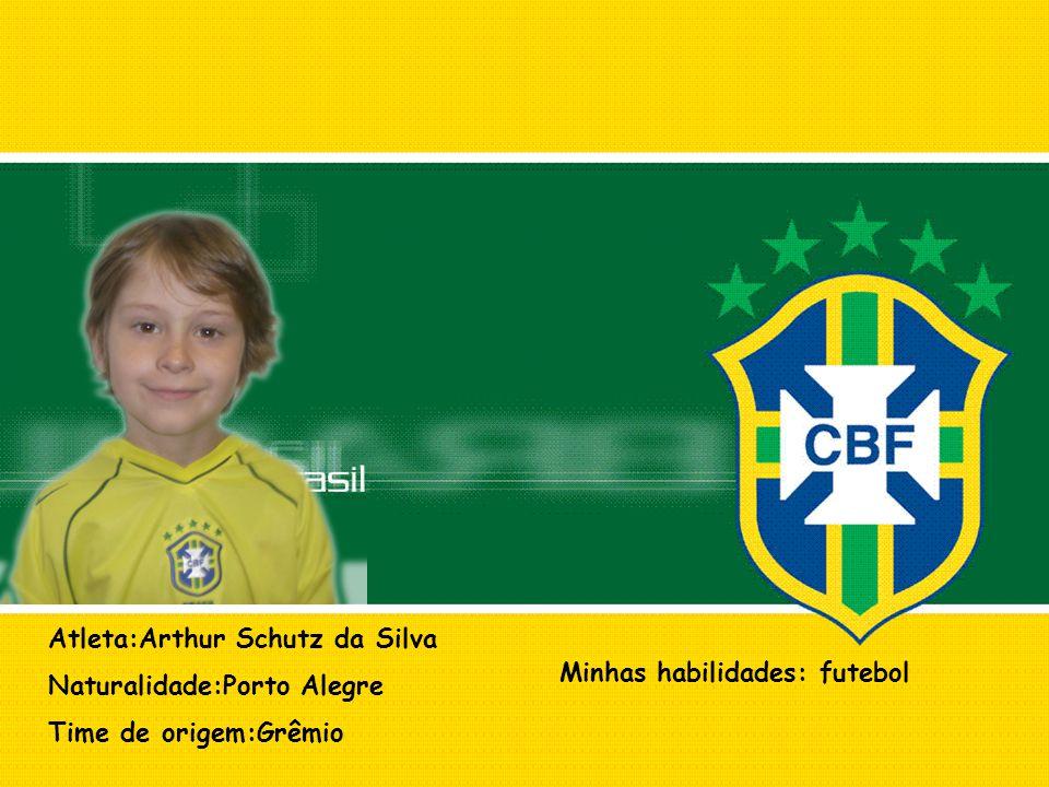 Atleta:Arthur Schutz da Silva