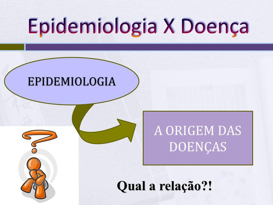 Epidemiologia X Doença