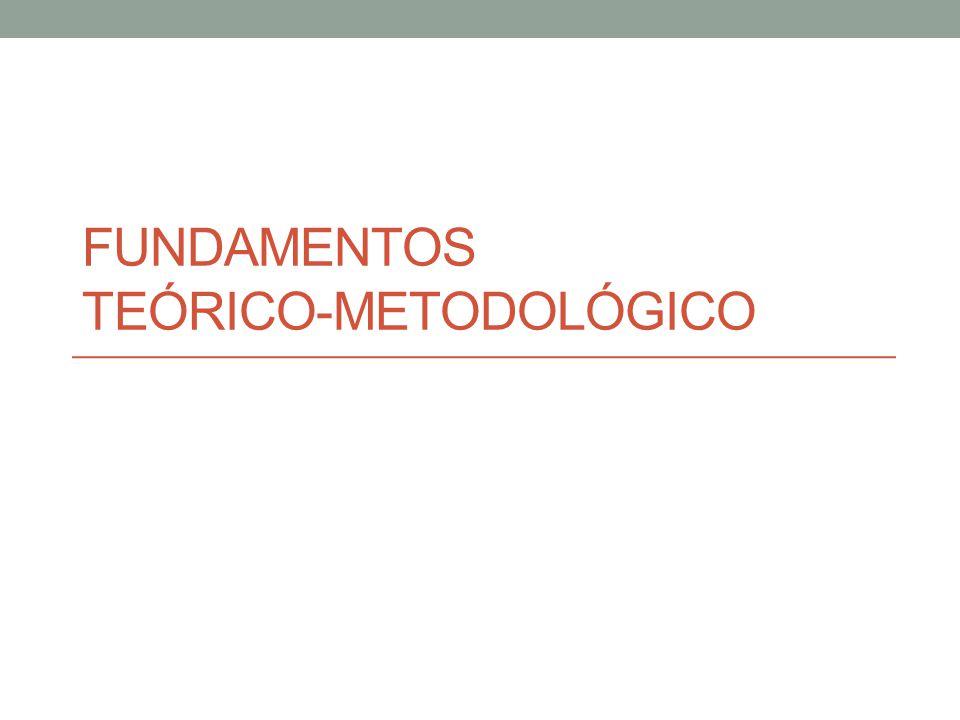 Fundamentos Teórico-metodológico