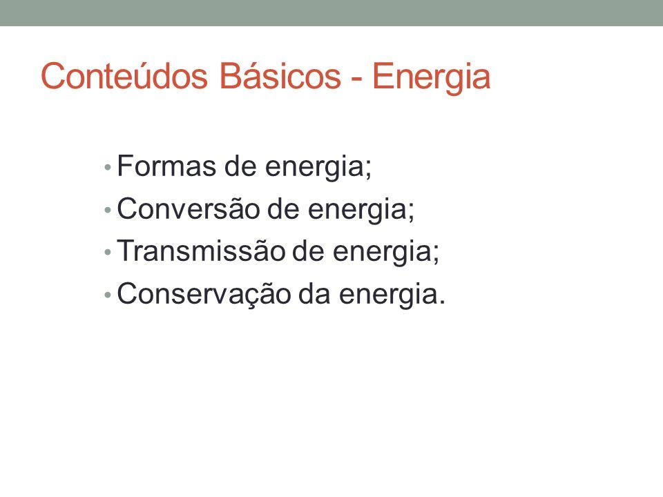 Conteúdos Básicos - Energia
