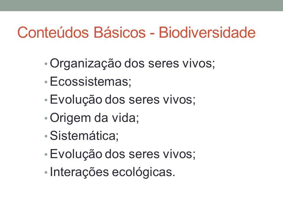 Conteúdos Básicos - Biodiversidade