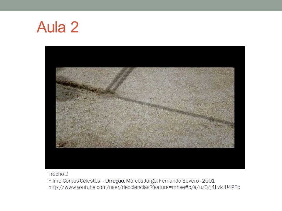 Aula 2 Trecho 2. Filme Corpos Celestes - Direção: Marcos Jorge, Fernando Severo - 2001.