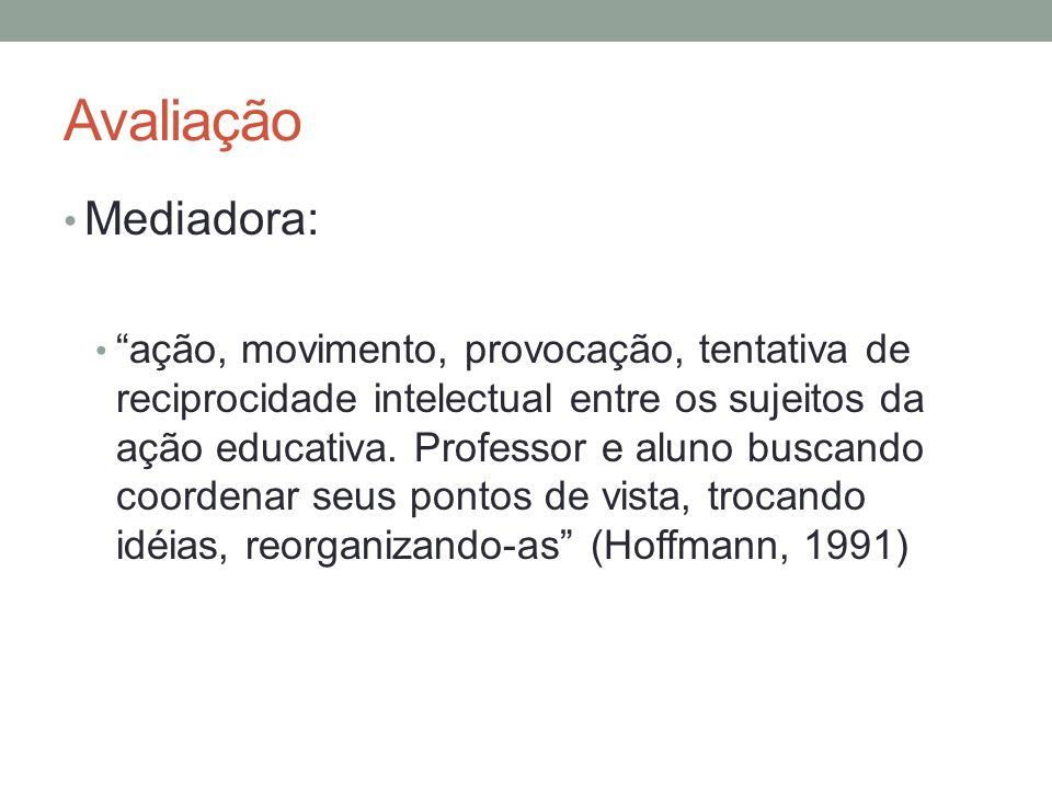 Avaliação Mediadora: