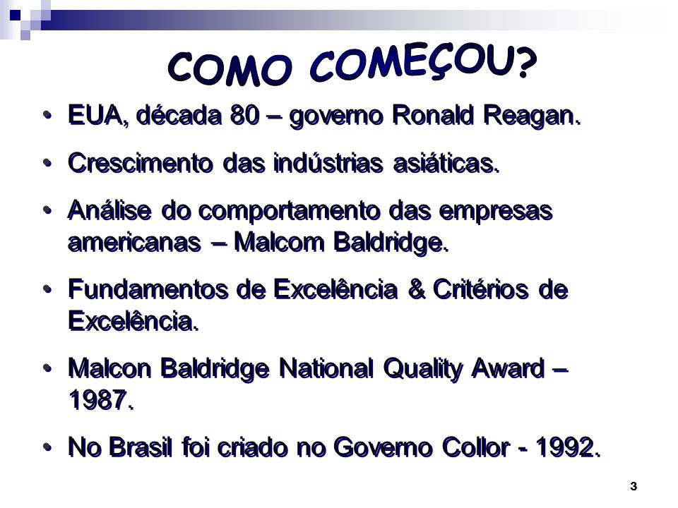 COMO COMEÇOU EUA, década 80 – governo Ronald Reagan.