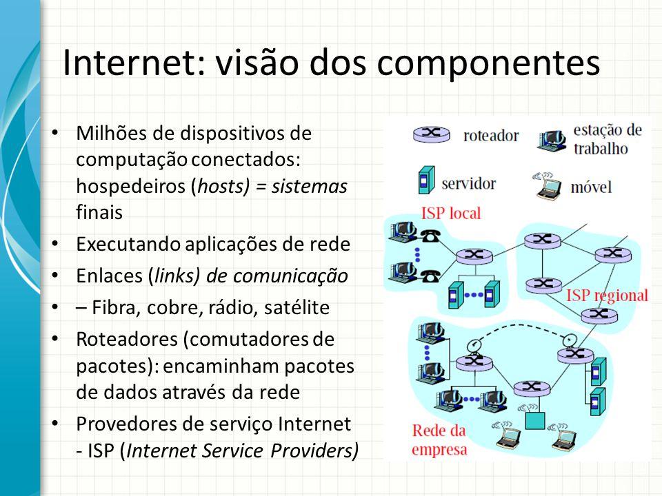 Internet: visão dos componentes