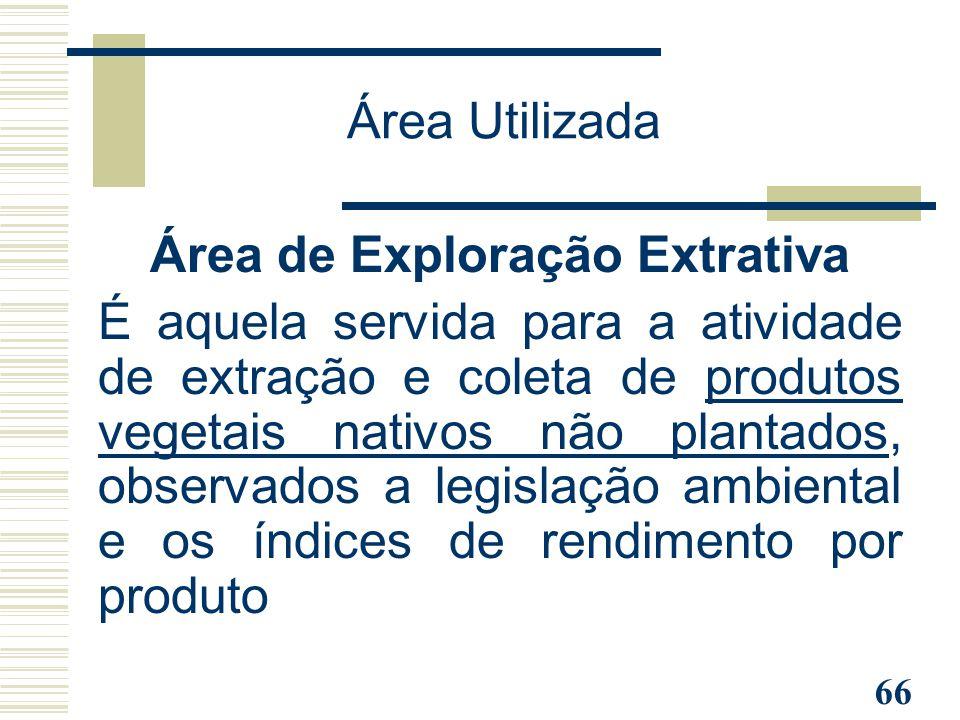 Área de Exploração Extrativa