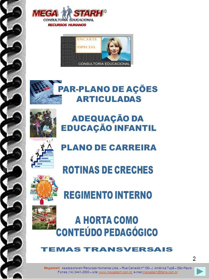 PAR-PLANO DE AÇÕES ARTICULADAS ADEQUAÇÃO DA EDUCAÇÃO INFANTIL