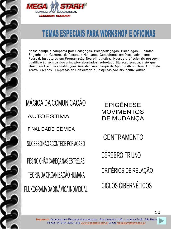 EPIGÊNESE MOVIMENTOS DE MUDANÇA CENTRAMENTO