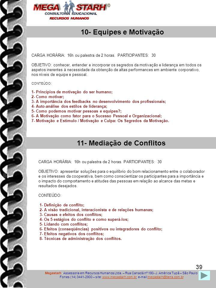 11- Mediação de Conflitos