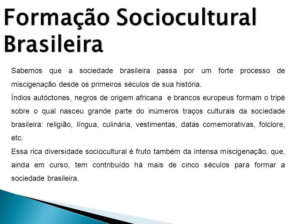 Formação Sociocultural Brasileira