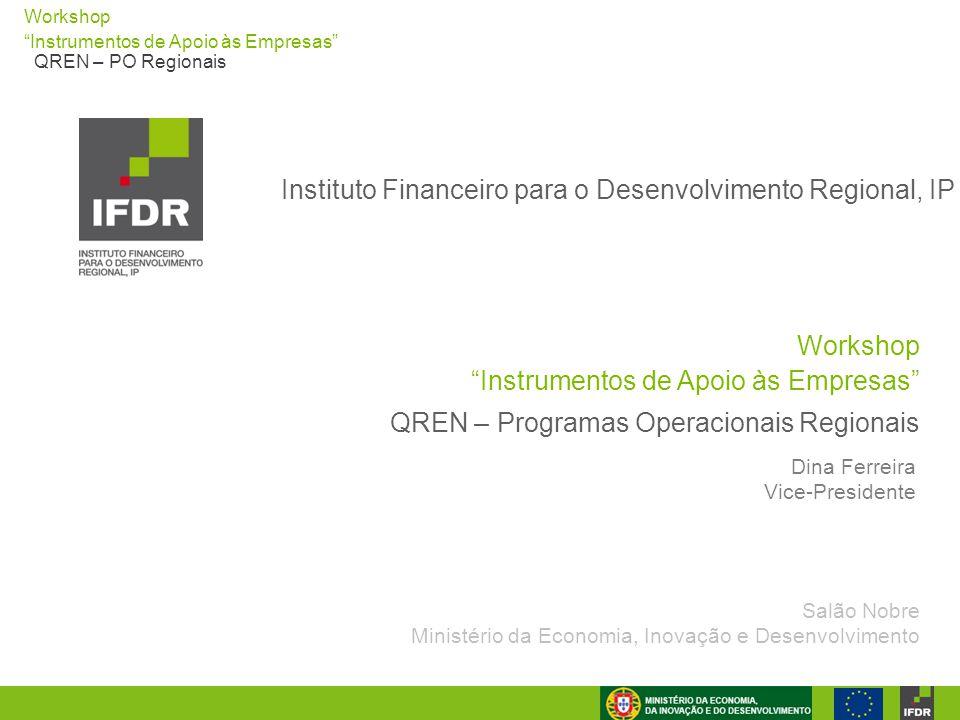 Instituto Financeiro para o Desenvolvimento Regional, IP
