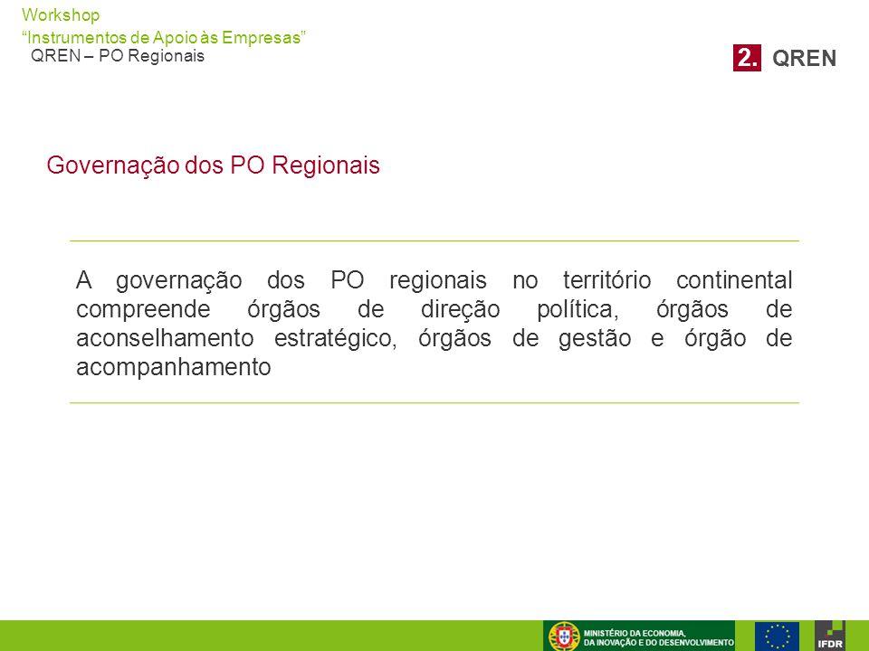 2. QREN Governação dos PO Regionais.