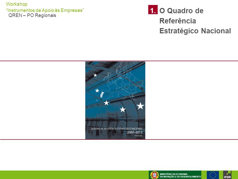 1. O Quadro de Referência Estratégico Nacional