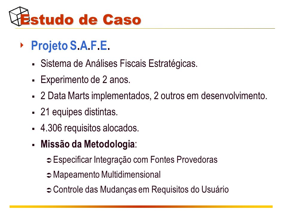 Estudo de Caso Projeto S.A.F.E.
