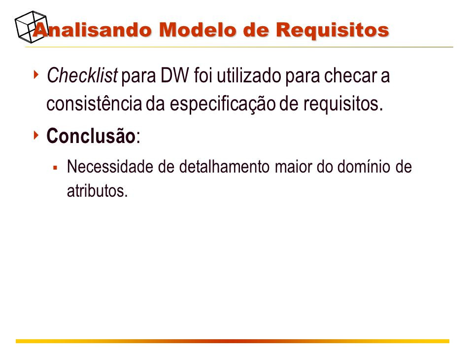 Analisando Modelo de Requisitos