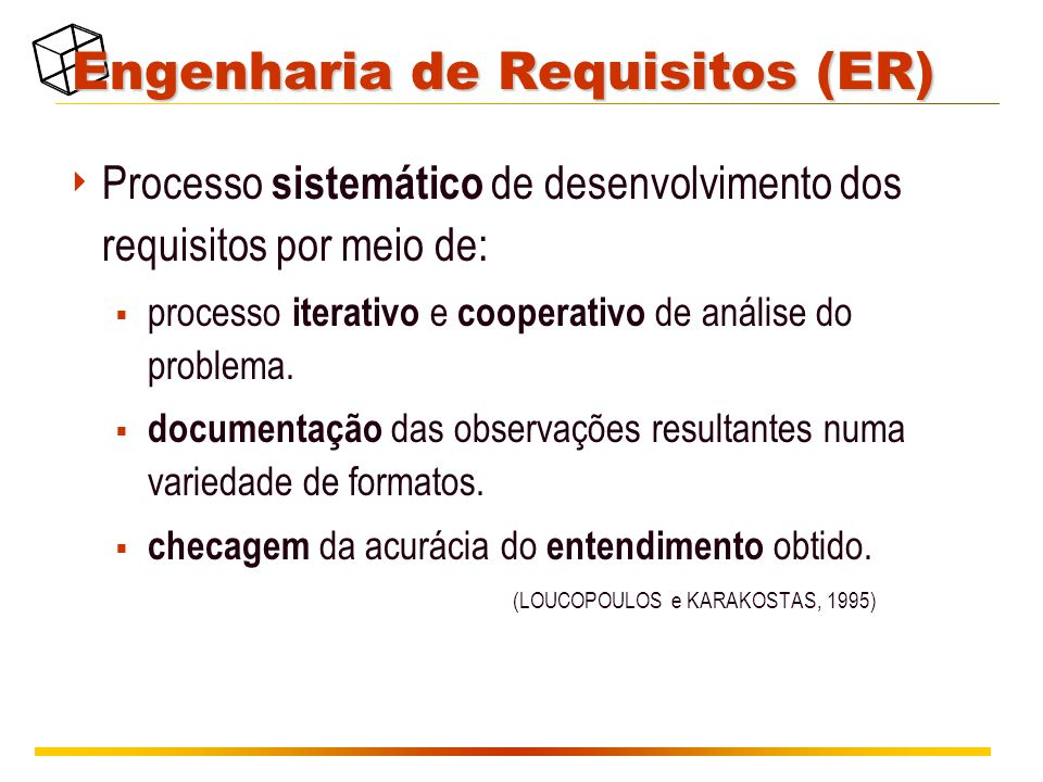 Engenharia de Requisitos (ER)