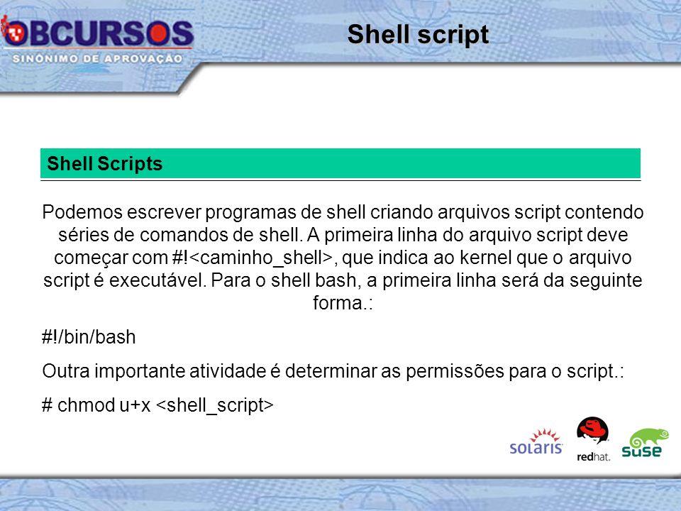 Shell script Shell Scripts