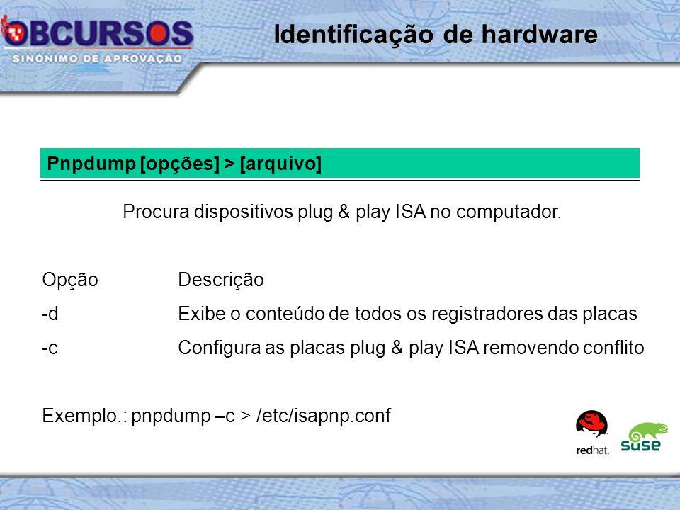 Identificação de hardware