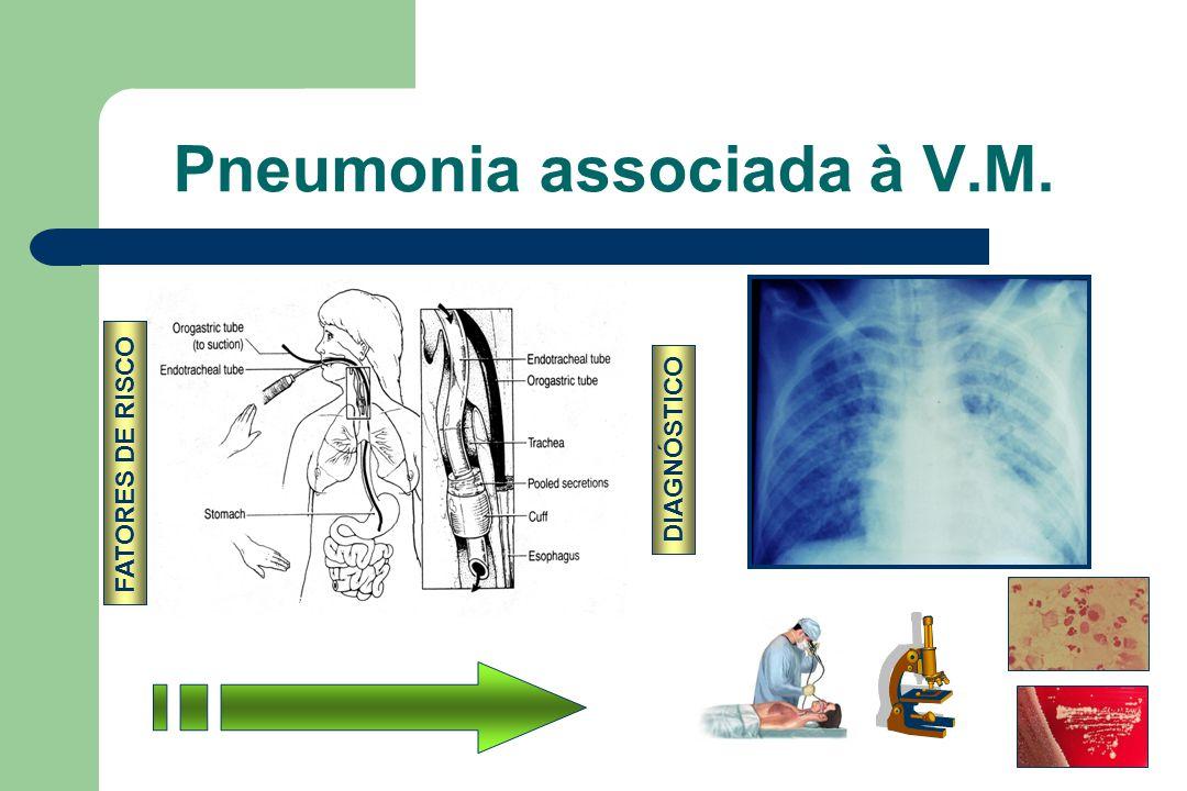 Pneumonia associada à V.M.