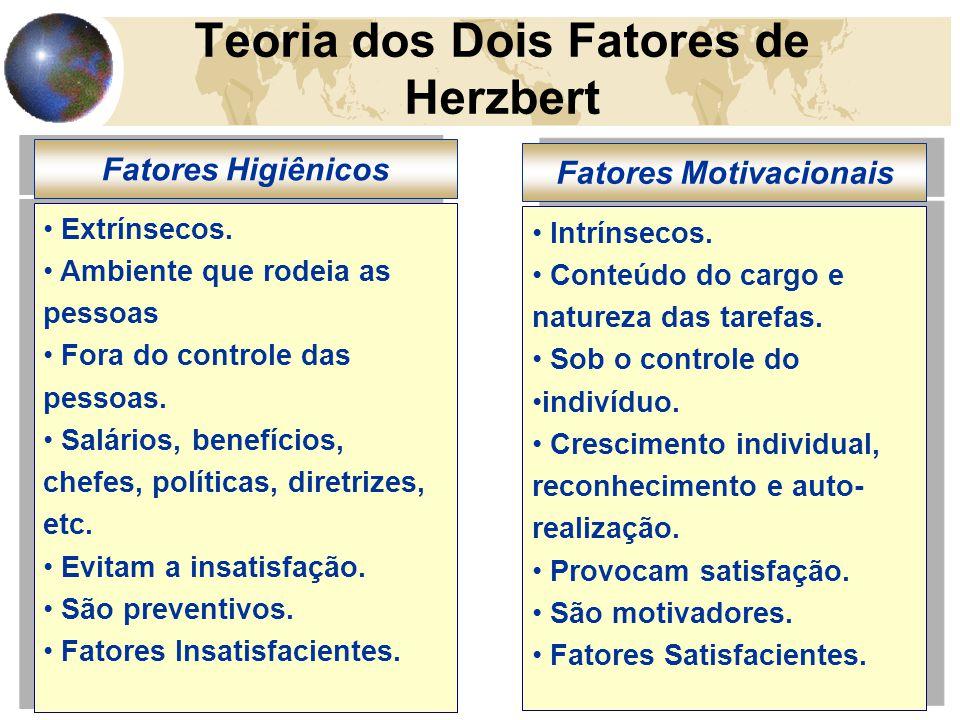 Teoria dos Dois Fatores de Herzbert