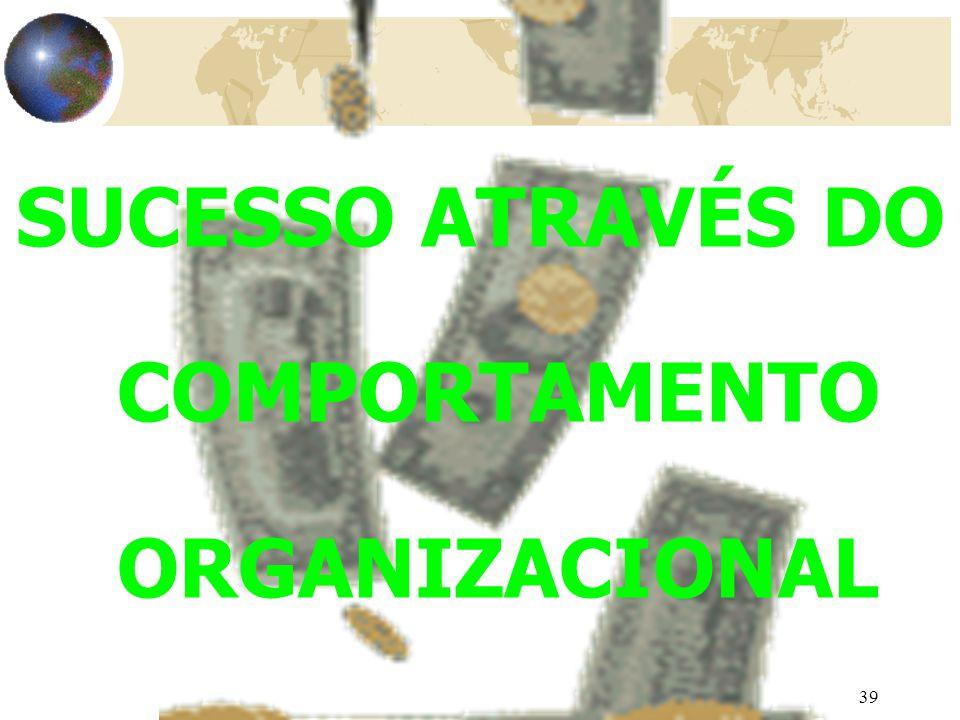 SUCESSO ATRAVÉS DO COMPORTAMENTO ORGANIZACIONAL