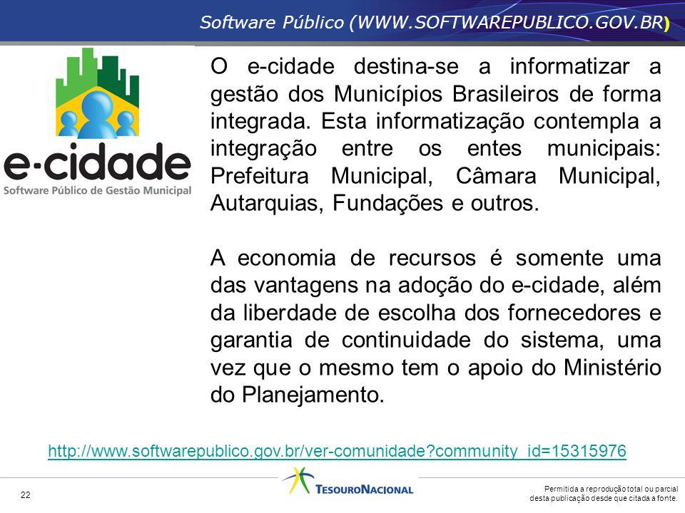 Software Público (WWW.SOFTWAREPUBLICO.GOV.BR)