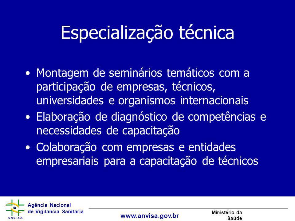 Especialização técnica