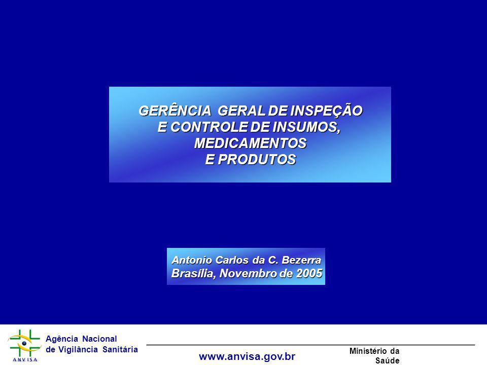 GERÊNCIA GERAL DE INSPEÇÃO Antonio Carlos da C. Bezerra