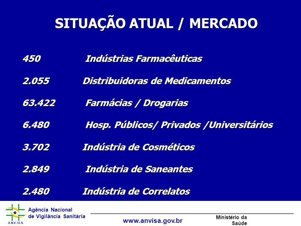 SITUAÇÃO ATUAL / MERCADO