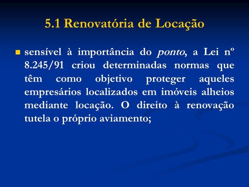 5.1 Renovatória de Locação