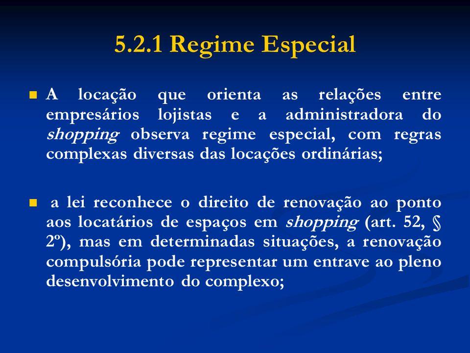 5.2.1 Regime Especial