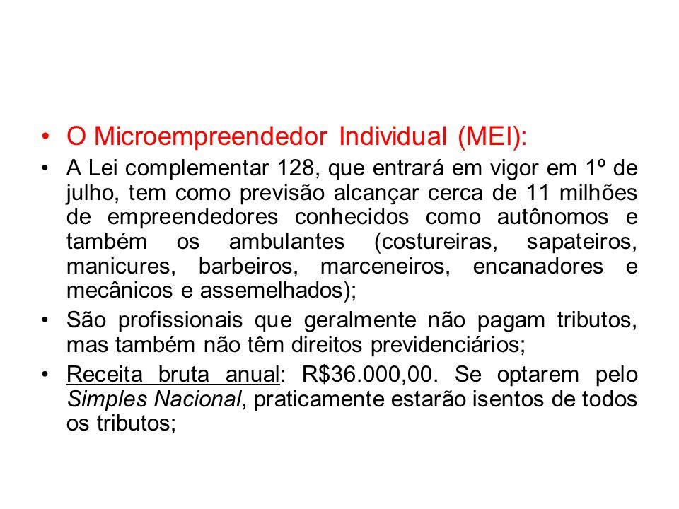 O Microempreendedor Individual (MEI):
