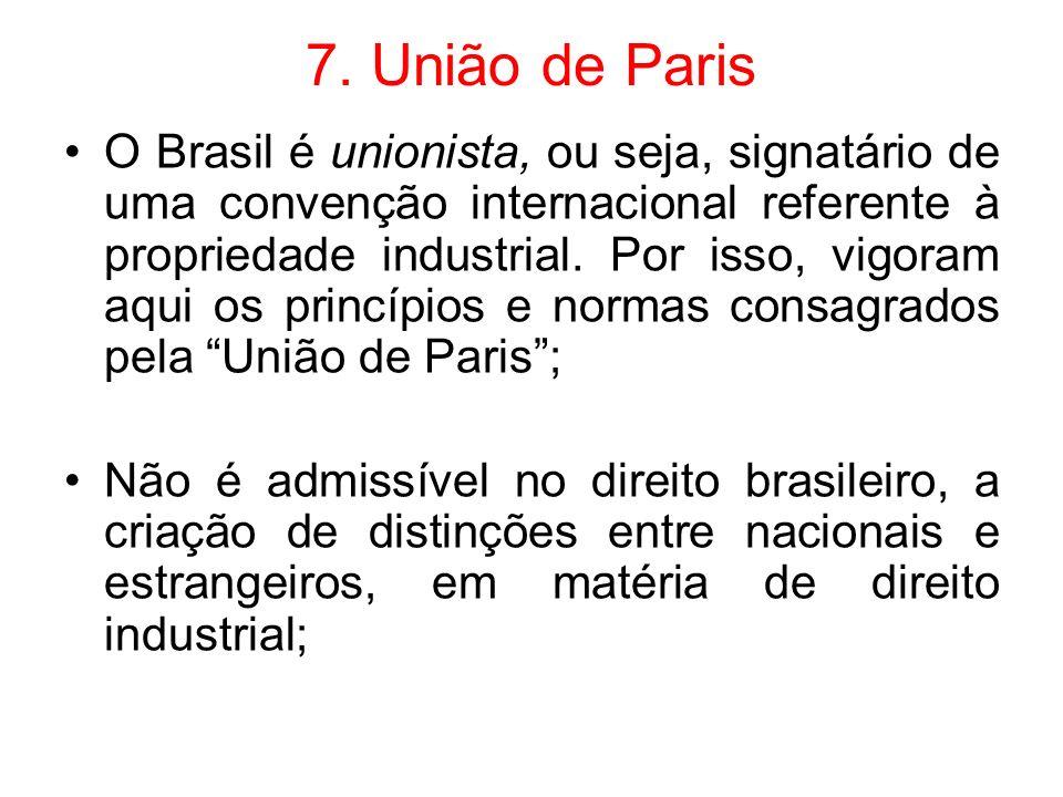 7. União de Paris