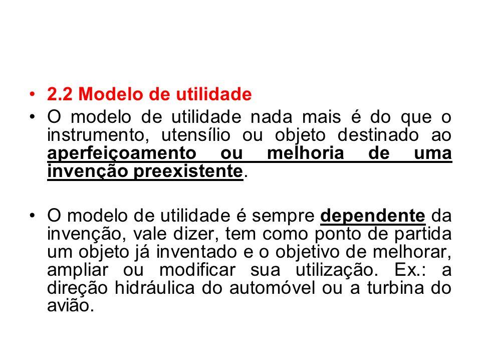 2.2 Modelo de utilidade